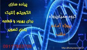 پیاده سازی الگوریتم ژنتیک